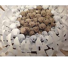#1 Flower Montage Photographic Print