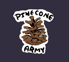 PINECONE ARMY SYMBOL (W/ White Outline) Unisex T-Shirt
