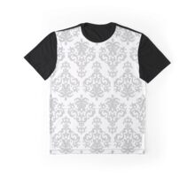 Baroque Print: Silver Graphic T-Shirt
