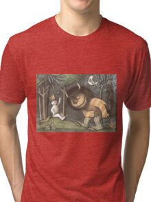 Where the wild things are Tri-blend T-Shirt