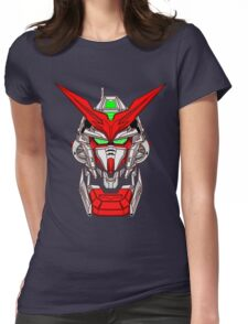 Astray Red Frame Womens Fitted T-Shirt