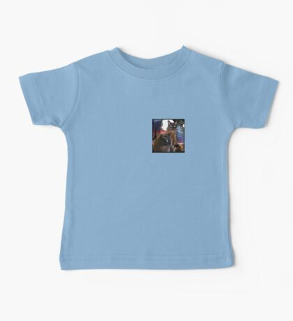 Burmese Cats and the Moon Baby Tee