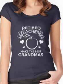 teachers Women's Fitted Scoop T-Shirt
