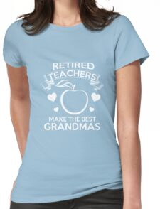 teachers Womens Fitted T-Shirt