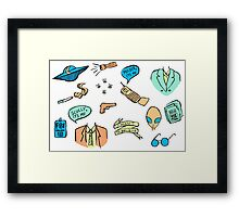 mulder it's me Framed Print