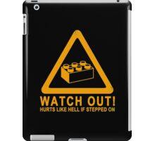 Watchout! iPad Case/Skin
