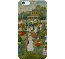 Maurice Brazil Prendergast  FRANKLIN PARK, BOSTON 2 iPhone Case/Skin