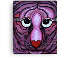 Love Tiger Canvas Print