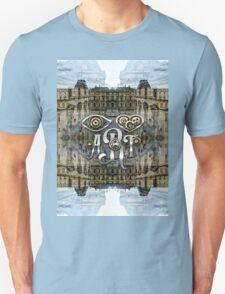 Eye Heart Art Louvre Silver Paris da Vinci Gears Unisex T-Shirt