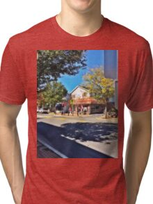 old historic resturant in Annville PA Tri-blend T-Shirt