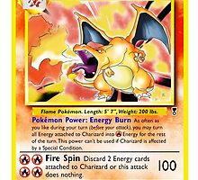 Charizard Card by DaftDesigns