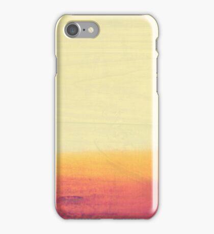 Minimalist Abstract Desert Landscape  iPhone Case/Skin