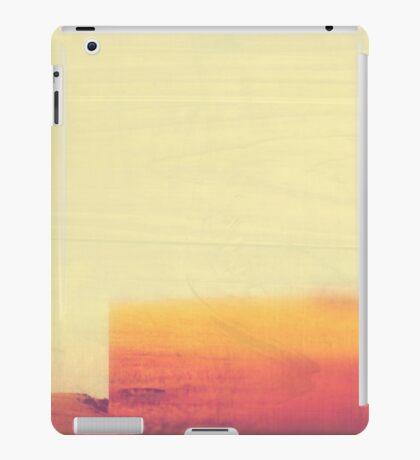 Minimalist Abstract Desert Landscape  iPad Case/Skin