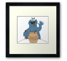 Wookiee Monster Framed Print