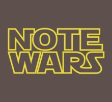Note Wars Kids Clothes