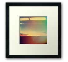 Abstract Modern, Minimal Landscape  Framed Print
