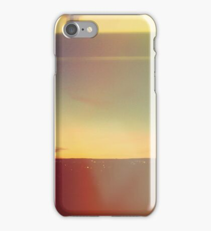Abstract Modern, Minimal Landscape  iPhone Case/Skin