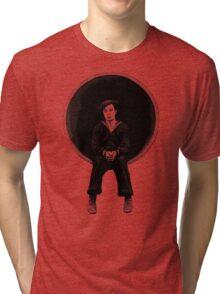 The Navigator - Buster Keaton Tri-blend T-Shirt