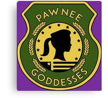 Pawnee Goddess - Parks & Recreation Canvas Print