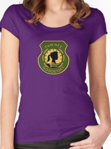 Pawnee Goddess - Parks & Recreation Women's Fitted Scoop T-Shirt