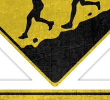 Trail Runners Ahead - Next 100 Miles  Sticker