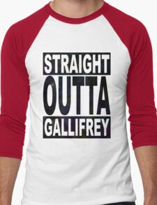 Straight Outta Gallifrey Men's Baseball ¾ T-Shirt