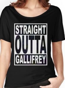 Straight Outta Gallifrey Women's Relaxed Fit T-Shirt