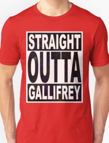 Straight Outta Gallifrey Unisex T-Shirt