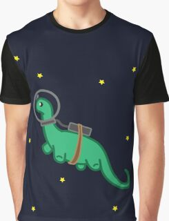 Space Dino Graphic T-Shirt