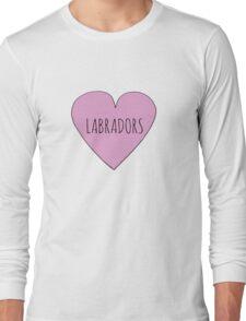 LABRADOR LOVE Long Sleeve T-Shirt