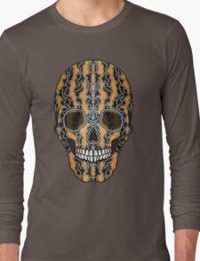 Sugar Skull (Tiger Clouds) Long Sleeve T-Shirt