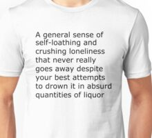 The Scariest Thing To Put On A Shirt Unisex T-Shirt
