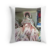 Oh You Beautiful Doll Throw Pillow