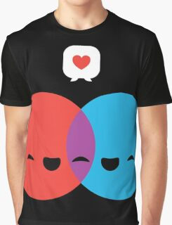 Love Diagram Graphic T-Shirt