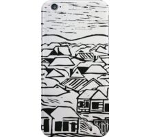 Urban country in monochrome iPhone Case/Skin