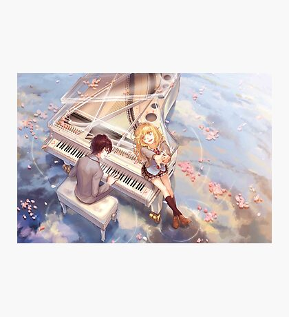 Your Lie In April Photographic Print