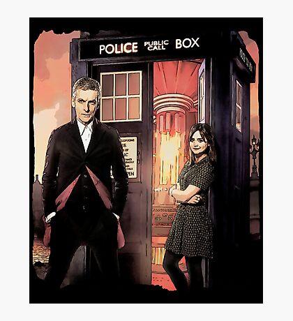 Capaldi Doctor Who Photographic Print
