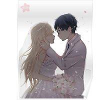 Kaori Arima Wedding Poster