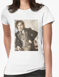 The 8th Doctor Womens Fitted T-Shirt