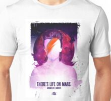 THERE'S LIFE ON MARS. Unisex T-Shirt