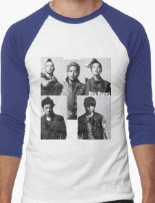 Big Bang in Black & White Men's Baseball ¾ T-Shirt
