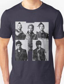 Big Bang in Black & White Unisex T-Shirt