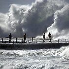 Big swell North Narrabeen by jagphoto