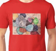 Scattered Beach Stones Unisex T-Shirt