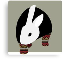 pattern rabbit Canvas Print