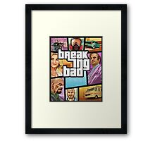 Breaking Bad 5 Framed Print