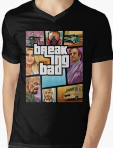 Breaking Bad 5 Mens V-Neck T-Shirt
