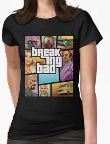 Breaking Bad 5 Womens Fitted T-Shirt
