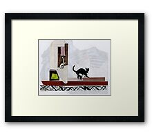 Barbie doesn't live here anymore Framed Print