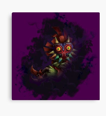Skull Kid Canvas Print